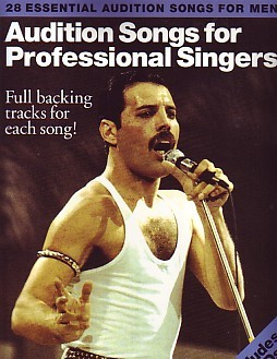 Audition Songs For Professional Male Singers Book & CD published by Wise