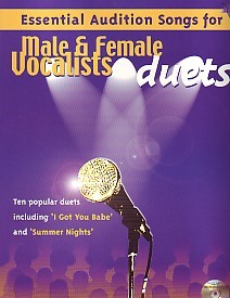 Essential Audition Songs for Male and Female Duets Book & CD published by IMP
