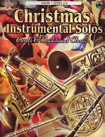 Christmas Instrumental Solos for Flute Book & CD published by Alfred