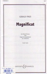 Finzi: Magnificat published by Boosey and Hawkes -Vocal Score