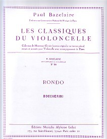 Boccherini: Rondo for Cello published by Leduc