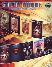Great Movie Instrumental Solos Book & CD for French Horn published by Alfred