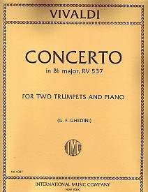Vivaldi: Concerto in C RV537 for 2 Trumpets published by IMC