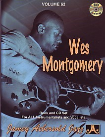 Aebersold 62 Wes Montgomery Book & CD for All Instruments