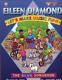 Let's Make Music Fun - The Blue Songbook Book & CD by Diamond