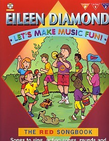 Let's Make Music Fun - The Red Songbook Book & CD by Diamond