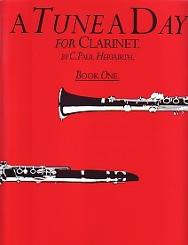 A Tune a Day Book 1 for Clarinet published by Boston Music Co