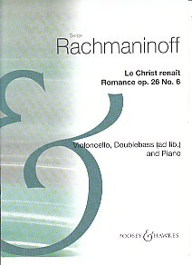 Rachmaninov: Romance Opus 26/6 for Cello published by Boosey and Hawkes