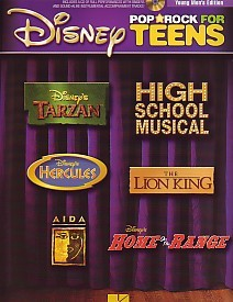Disney Pop And Rock For Teens - Young Men's Edition Book & CD published by Hal Leonard