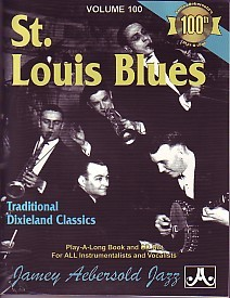Aebersold 100 St Louis Blues Book & CD for All Instruments