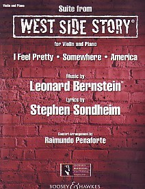 Bernstein: Suite from West Side Story for Violin published by Boosey and Hawkes