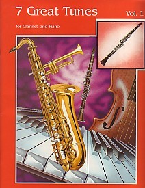 Seven Great Tunes Volume 1 for Clarinet published by Nova