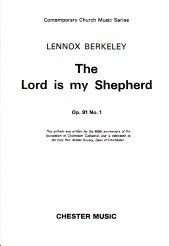 Berkeley: The Lord is My Shepherd SATB published by Chester