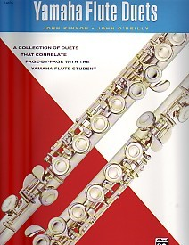 Yamaha Flute Duets published by Alfred