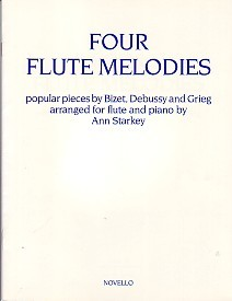 4 Flute Melodies for Flute published by Novello