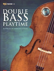 Double Bass Playtime Book & CD published by de Haske