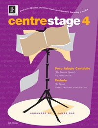 Centre Stage four part flexible chamber music Vol  4  published by Universal Edition