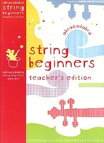 Abracadabra String Beginners Teachers Book for Cello, Viola or Violin published by A and C Black