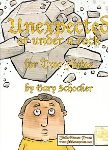 Schocker: Unexpected or Under a Rock for Two Flutes published by Falls House Press