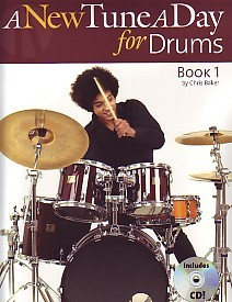 A New Tune a Day 1 Book & CD for Drums published by Boston
