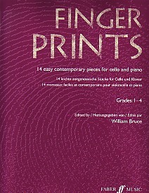 Fingerprints for Cello published by Faber