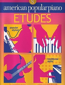 American Popular Piano Etudes Level 8 by Norton published by Novus