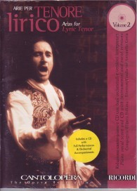 Cantolopera: Arias for Lyric Tenor Volume 2 Book & CD published by Ricordi
