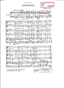 Bax: Magnificat SATB published by IMP
