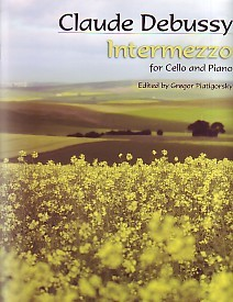 Debussy: Intermezzo for Cello published by Elkan-Vogal