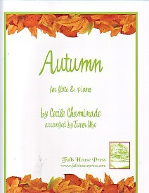 Chaminade: Autumn for Flute published by Falls House Press