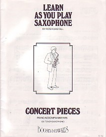 Learn As You Play Piano Accompaniment for Tenor Saxophone published by Boosey and Hawkes