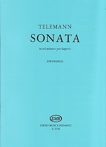 Telemann: Sonata in E Minor for Bassoon published by EMB