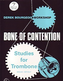 Bourgeois: Bone of Contention for Trombone (Bass Clef) published by Brasswind