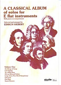 A Classical Album Volume 1 for Eb Intruments published by Studio Music