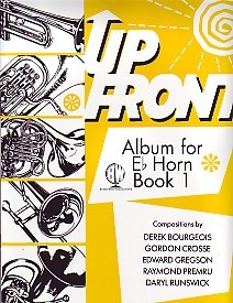 Up Front Book 1 for Eb Horn published by Brasswind