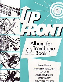 Up Front Album 1 for Trombone (Bass Clef) published by Brasswind