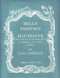 Ameller Hauterive for Tuba published by Leduc