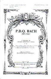 Bach: O Little Town of Hackensack SAB published by Theodore Presser Company