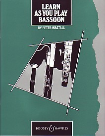 Learn As You Play for Bassoon published by Boosey and Hawkes