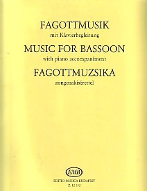 Music for Bassoon published by Edition Musica Budapest