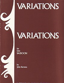 Variations by Burness for Bassoon published by Paterson