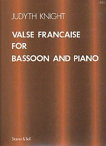 Valse Francaise by Knight for Bassoon published by Stainer and Bell