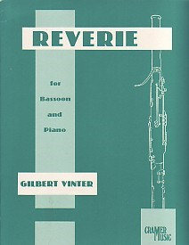 Vinter: Reverie for Bassoon published by Cramer Music