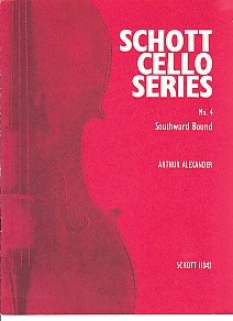 Alexander: Southward Bound for Cello published by Schott