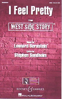 I Feel Pretty (West Side Story)  SSA by Bernstein published by Boosey and Hawkes