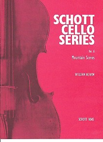 Alwyn: Mountain Scenes for Cello published by Schott