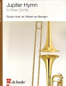 Holst: Jupiter Hymn for Brass Quintet published by de Haske