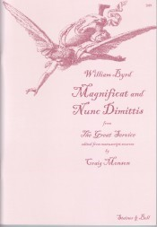 Byrd: Magnificat and Nunc Dimitis (The Great Service) published by Stainer and Bell