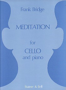 Bridge: Meditation for Cello published by Stainer and Bell