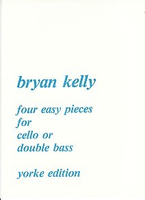 Kelly: 4 Easy Pieces for Cello or Double Bass published by Yorke